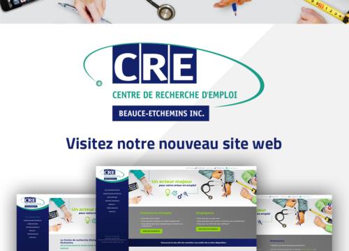 Lancement du nouveau site Web crebe.qc.ca