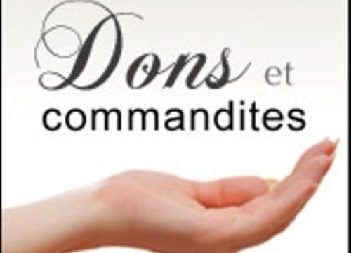 Dons et commandites